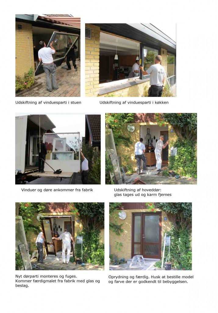 Udskiftning af døre og vinduer_